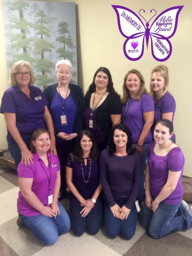 Purple Butterfly Turner Syndrome